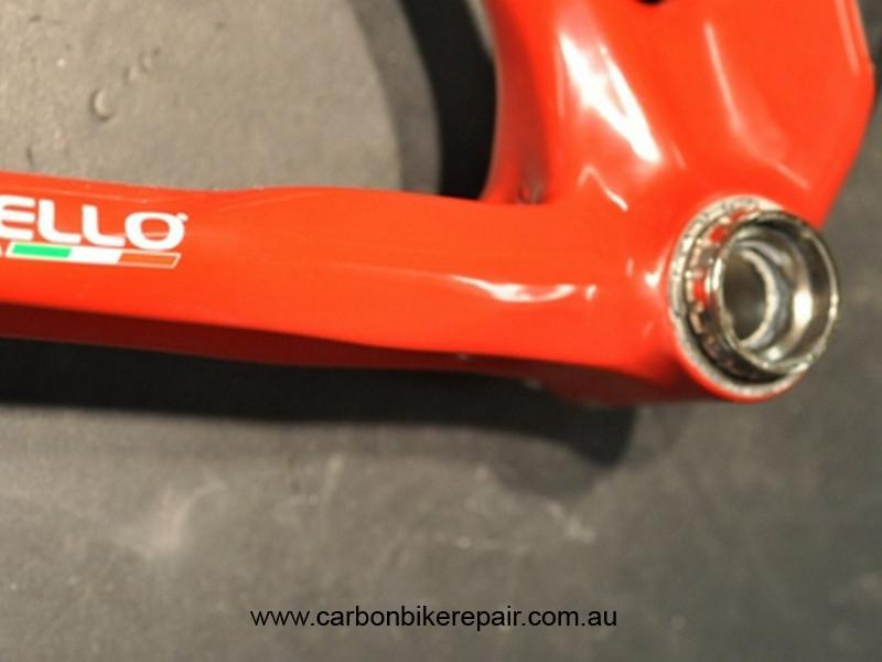 Pinarello Chain stay damage after