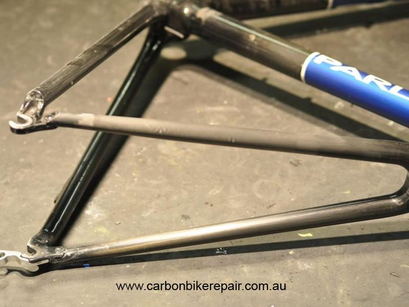 Parlee seat stay after